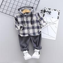 Toddler Autumn Clothes Boys Clothing Set Tiny Cotton Tracksu