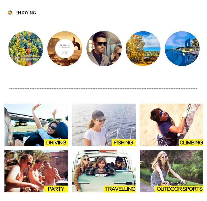 3a4511e7125 OUTSUN 2017 Polarized Sunglasses Men Women Sport fishing Driving Sun ...