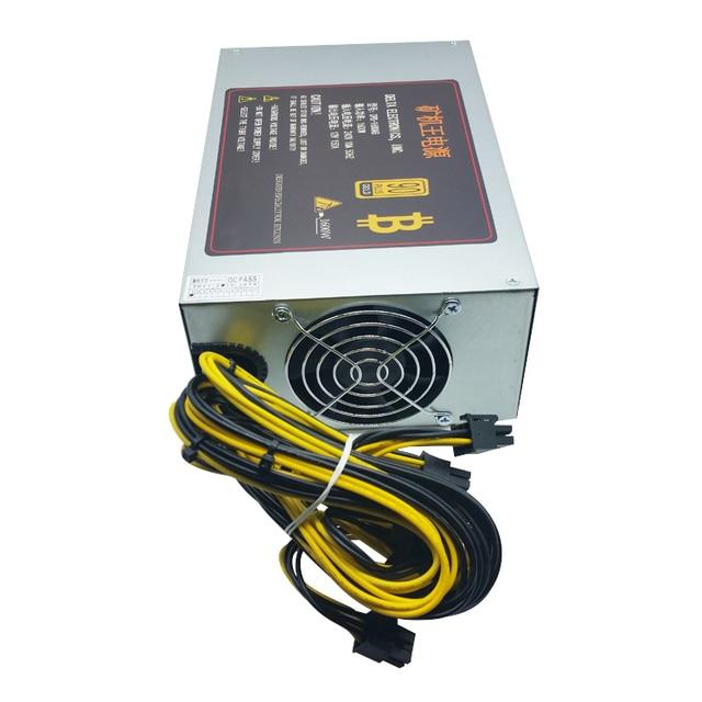 1600W psu Ant S7 A6 A7 S7 S9 L3 BTC miner machine server mining board power supply