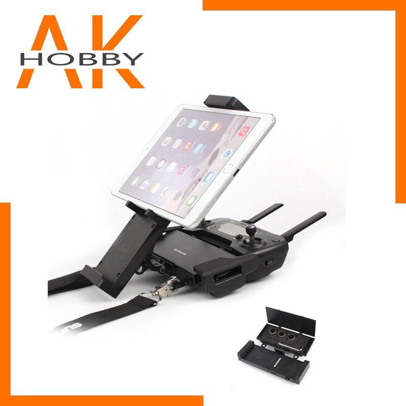 Smartphone Tablet Halterung Ständer Halter Faltbare 4,7-12,9 zoll für DJI FUNKEN/MAVIC 2/PRO/AIR RC Drone Fernbedienung