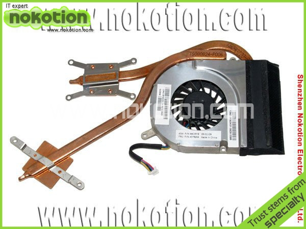 NOKOTION Fan for IBM Lenovo ThinkPad SL500 PN: 44C0918 FRU: 43Y9693 heatsink fan 2pcs/lot материнская плата для пк for lenovo lenovo ibm thinkpad t400 fru 63y1189