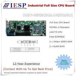 Industriële Full Size CPU-Kaart, 945 chipset moederbord, LGA775 CPU, 2 GLAN, 2COM, 6USB, industriële single board computer
