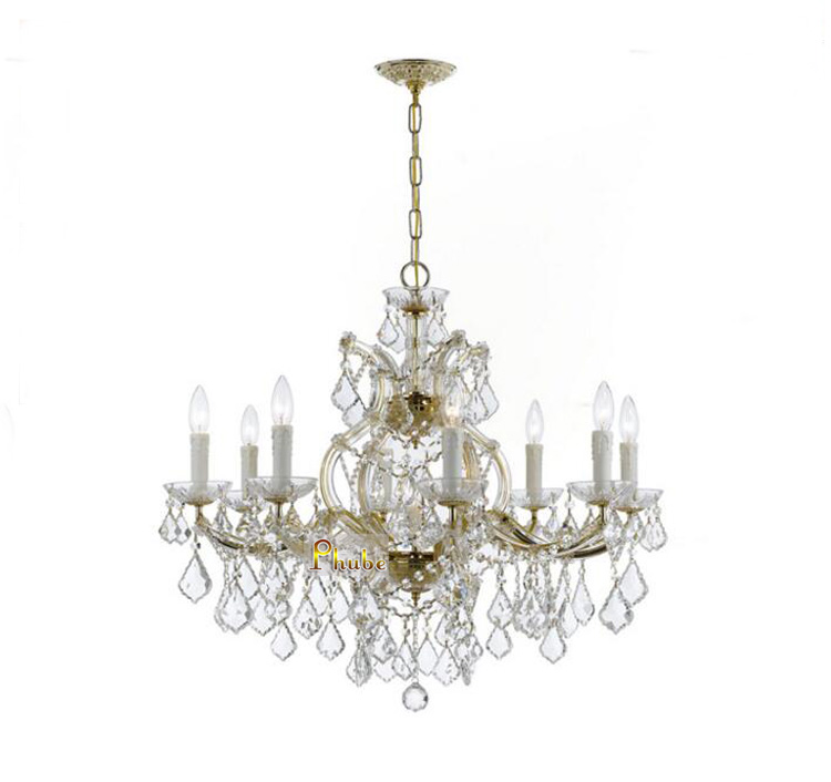 купить Maria Theresa Crystal Chandelier Lighting Modern Crystal Chandelier Chrome Chandelier +Free shipping! по цене 20518.93 рублей