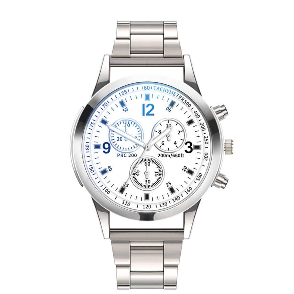 2019 แบรนด์หรูนาฬิกาผู้ชายนาฬิกากันน้ำกีฬานาฬิกาผู้ชาย QUARTZ นาฬิกาข้อมือ Casual Relogio Masculino a40