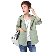 Summer new uv protection jacket long sleeve hooded jacket women solid color plus size 4XL breathable wicking Sun protection tops