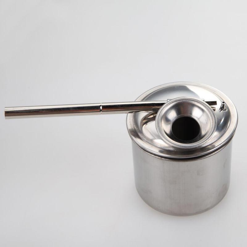 Керамика инструменты из нержавеющей стали глазурованный горшок керамической глины инструменты глины инструмент великого 100/200/300 мл - Цвет: 200ml