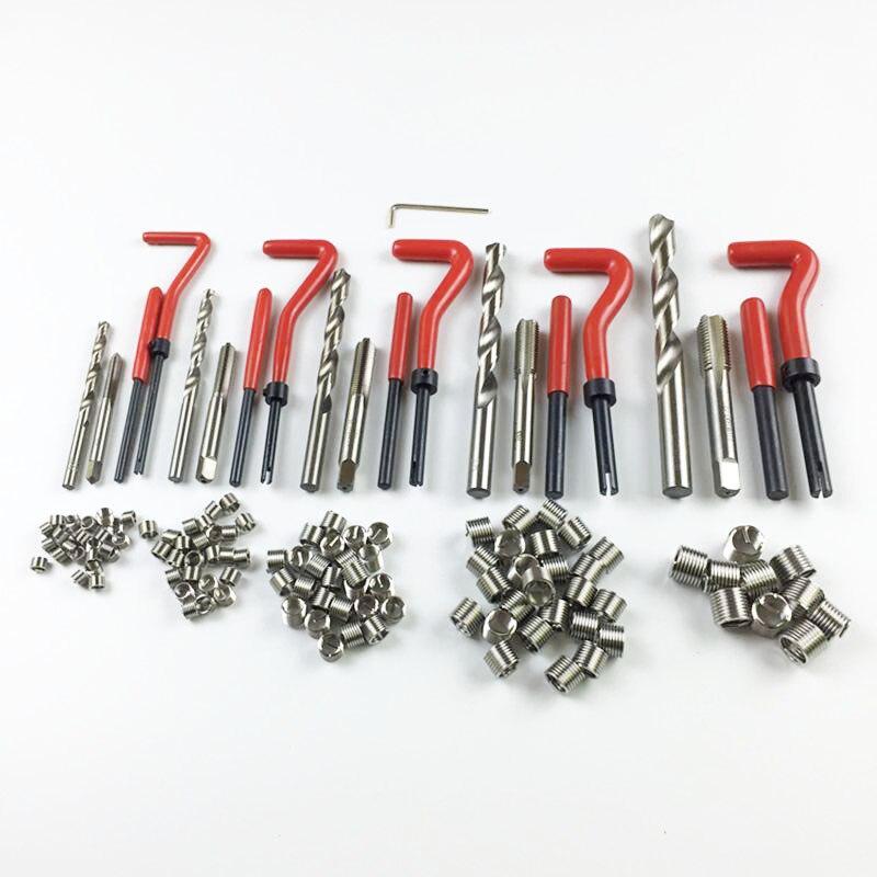 131 Pcs Set M5 M6 M8 M10 M12 Auto Engine Block Restoring Damaged Thread Repair Tool