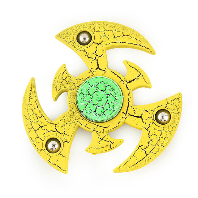 Figet Spiner Fidget toy Gold Black for adult 2017 New Scrub ABS Plastic spinner hand gold finger spinner noir spiner handspinner