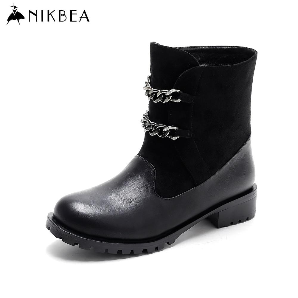 Aliexpress.com : Buy Nikbea Punk Womens Boots Winter 2016 ...