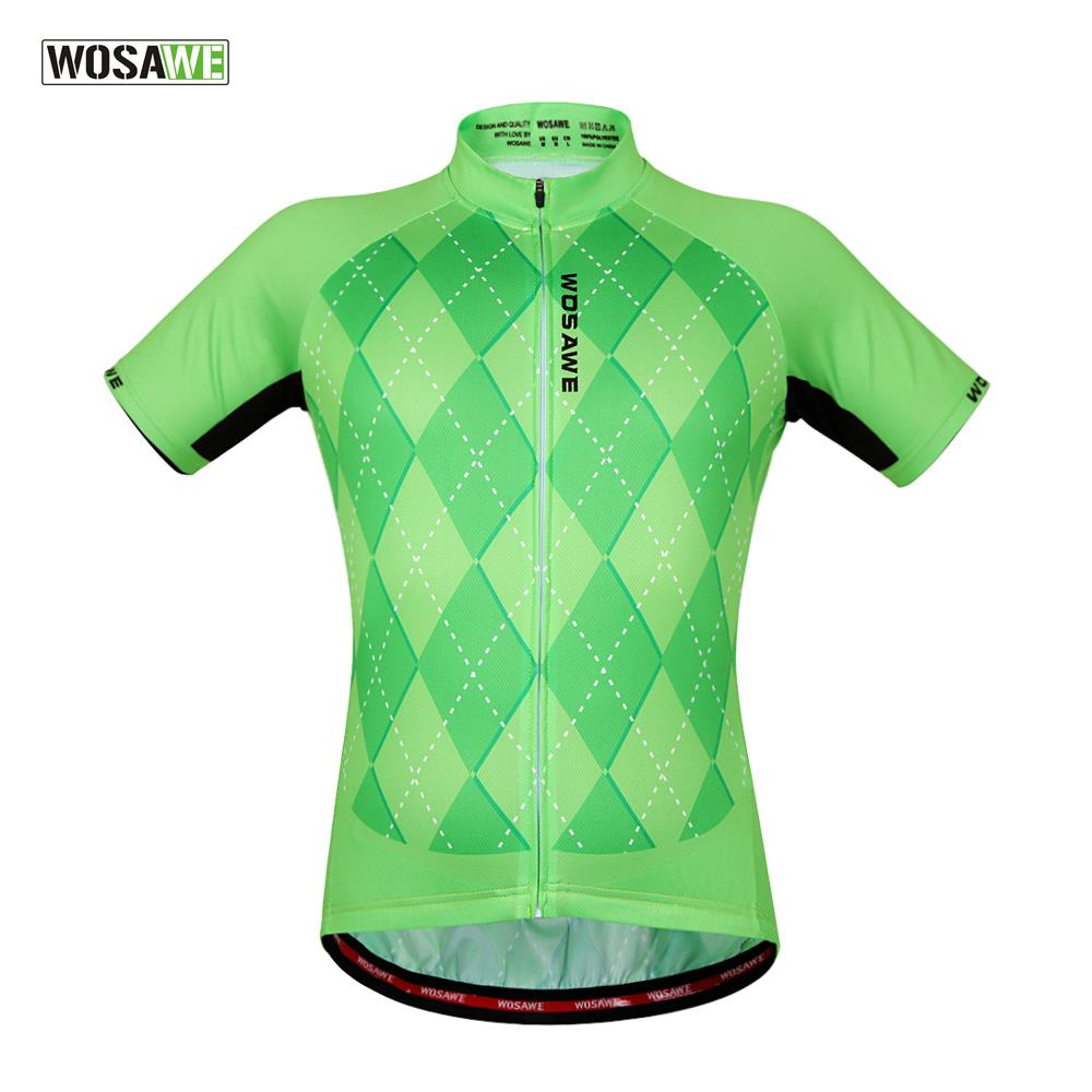 WOSAWE Cycling Jersey Bike Bicycle Clothing Breathable Quick Dry Men  Cycling Jersey MTB Downhill Mountain Bike 403d702f1