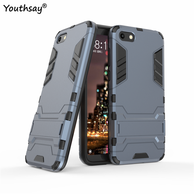 best website b810a 16db0 US $2.68 37% OFF For Huawei Honor 7S Case Huawey Honor 7S Luxury Robot Hard  Back Phone Case For Huawei Honor 7S Cover For Huawei Y5 2018 Fundas-in ...