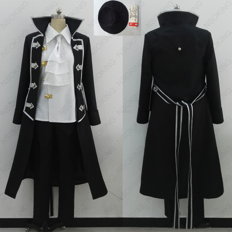 New Anime Pandora Hearts Gilbert Nightray cosplay costume Any size