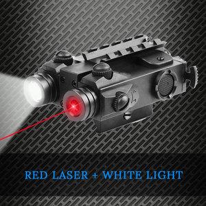 Weapon Red Dot Laser Flashligh