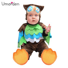 Umorden Carnival Halloween Costumes Toddler Infant Baby Animal Owl Costume Cosplay for Girl Boy Fancy Dress Jumpsuit