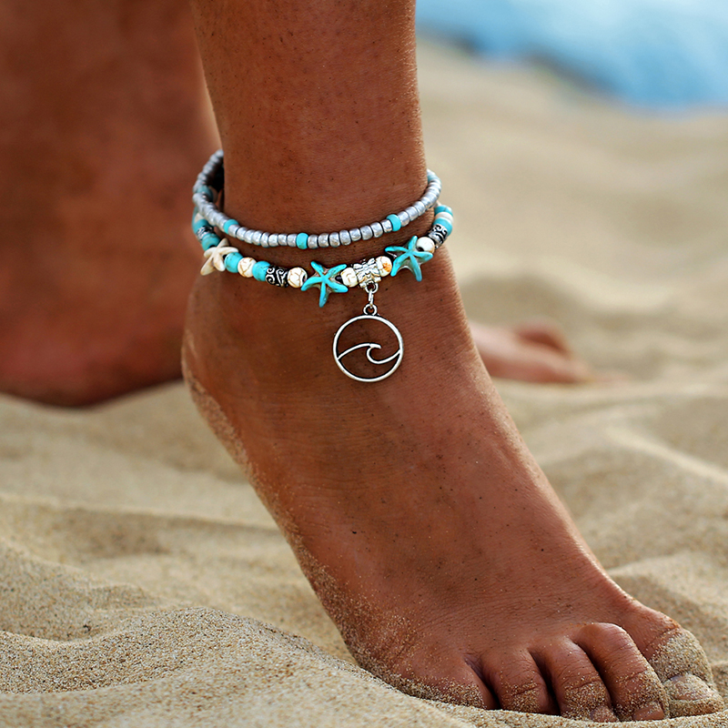 Starfish Foot Ankle Bracelet 1