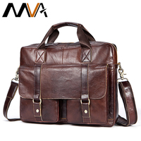 Briefcase male mens leather messenger bags men's shoulder bags genuine leather business crossbody man bag for men documents 7804