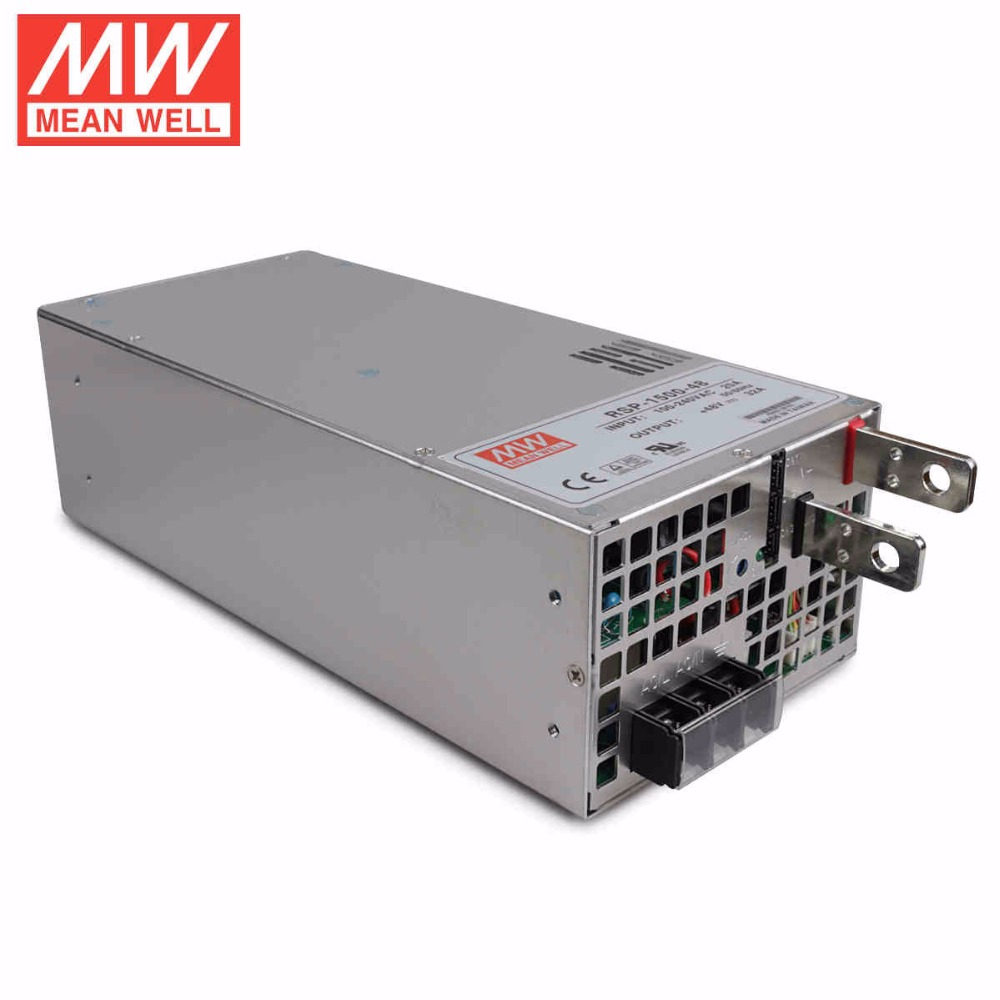 Original MEAN WELL RSP-1500-15 1500W 100A 15V ac/dc meanwell Power Supply with PFC function current sharing (Parallel operation) свитшот reserved