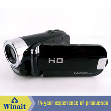 Stock 12Mega Pixel 1280 x 720P HD Digital Video Camera with 3x Optical Zoom 8x Digital Zoom Li-ion Battery and 2.7″ TFT Screen