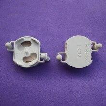 Fluorescent Lamp Holder Starter Seat Base Fittings 10pcs