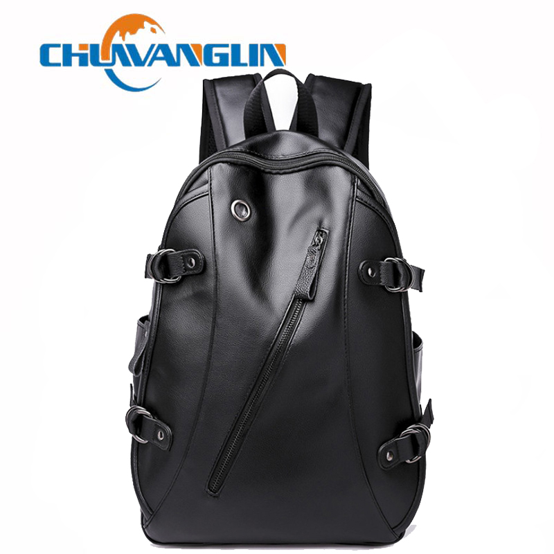 Chuwanglin leather backpack mens usb Charging backpacks new fashion school bags casual Laptop backpack trend men bag A9121Chuwanglin leather backpack mens usb Charging backpacks new fashion school bags casual Laptop backpack trend men bag A9121