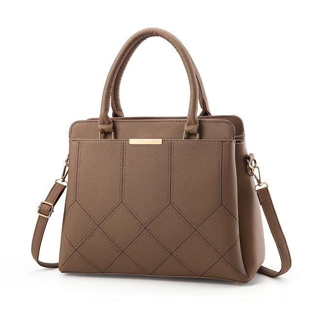 Hot Sale Classic Women Bag Fashion PU Leather Women s Handbags Top-Handle  Bags Totes Women Date Shoulder Messenger Bags WH92 77aaff1cd6c02