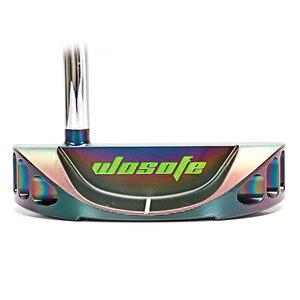 Image 4 - Clubes de golfe putter men destro forma semicircular forjado cnc eixo de dobra aço face equilíbrio pvd preto frete grátis