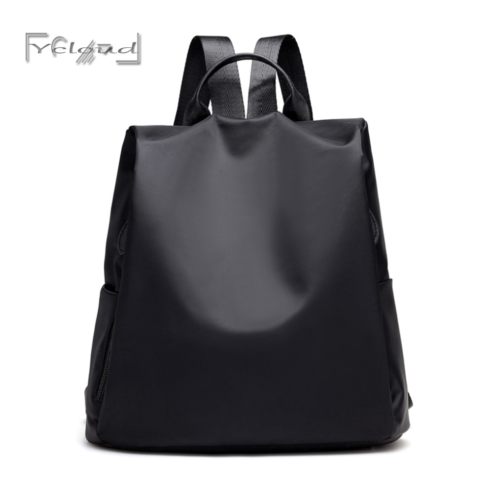2017 NEW Factory outlet Fashion Black Women Backpacks For Girls Female school cheap shoulder Bags Ladies women Oxford Backpack