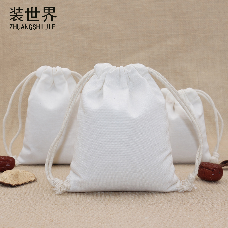 1pcs/lot 24*31cm Canvas Polyester Bag Pouch Wholesale Logo Print Drawstring Travel Christmas Gift Bags Packing Bag
