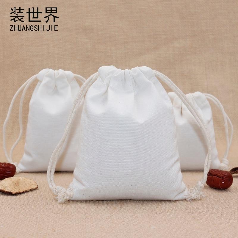 1pcs/lot 24*31cm Canvas Polyester Bag Pouch Wholesale Logo Print Drawstring Travel Christmas Gift Bags Packing Bag