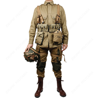 WW2 US Army Military ARMY M42 soldiers COTTON FASHION Paratrooper uniform and Garland equipment group