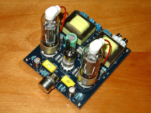 Douk Audio 6P13P Vacuum Tube Amplifier Class A Single-Ended Amp Board DIY Kit douk audio 6v6 single ended class a hifi tube stereo amplifier diy kit 1set