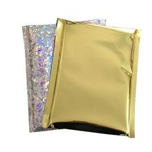 envelopes silver 6x9, 10x13, 9x13 Free shipping wholesale mailer envelope metallic foil bag silver foil poly mailer