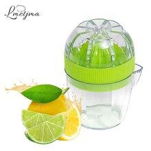 LMETJMA соковыжималка для лимона с крышкой, пластиковая ручная соковыжималка для лимона, пресс для апельсина, соковыжималка для цитрусовых с носиком, фруктовые инструменты KC0130