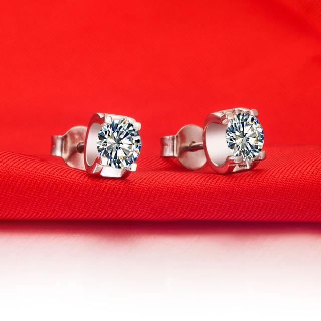 0 3 Carat piece Briliant Bright Synthetic Diamonds Earrings stud for women best body Accessories fabulous.jpg 640x640 - 0.3 Carat/ piece Briliant Bright Synthetic Diamonds Earrings stud for women best body Accessories fabulous Jewelry Gift for Her