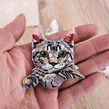Creative Cute Animal Cloth Sticker 3D DIY Sewing Accessories Embroidered Patch Badge Stickers Clothing Decoration  patches