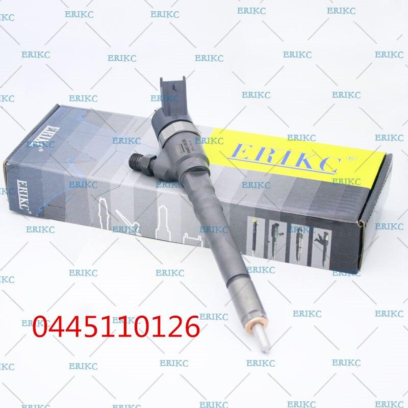 ERIKC 0445110126 33800-27900 pièces d'auto CRI injecteur à rampe commune 0 445 110 126 pour moteur Cummins 5263319 HYUNDAI 2.0