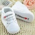 Niño recién nacido shoes infantil del bebé niños niño niña suave únicos zapatos de lona de los niños del bebé casual shoes