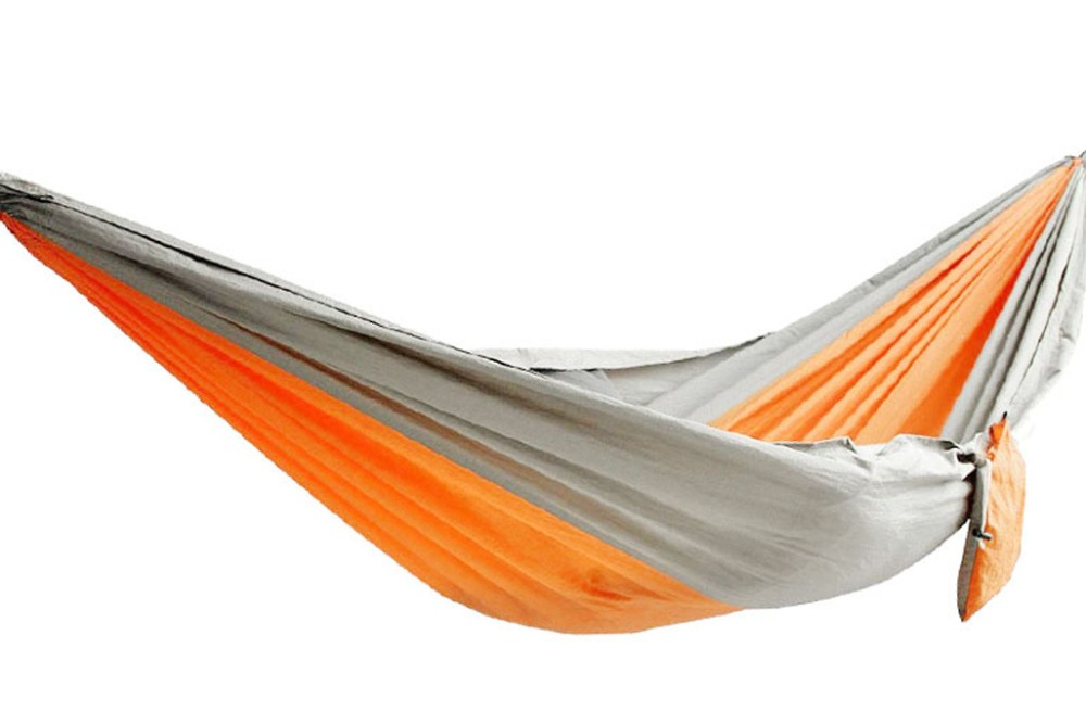 Sunland Ultra Light Portable Nylon Parachute Hammock for Travel Camping Hiking Outdoor Backpacking in Hammocks from Furniture