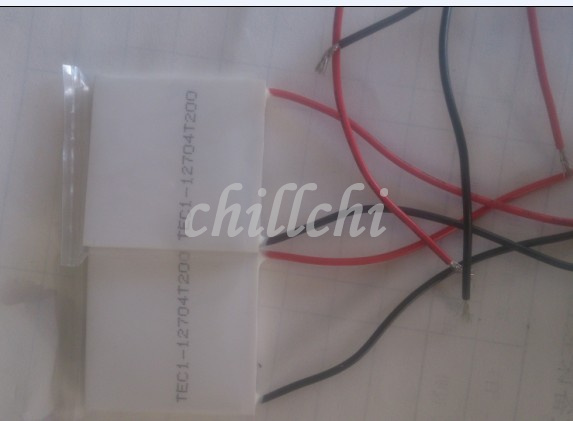 Dashing High Temperature Thermoelectric Power Chip 40*40 Teg-12704t200 High Temperature 200 Degree Refrigeration Chip High-end Products Yet Not Vulgar Back To Search Resultselectronic Components & Supplies