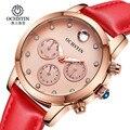 2017 mujeres de los relojes de primeras marcas ochstin reloj mujeres reloj de vestir de cuarzo reloj de manera reloj ocasional del relogio feminino