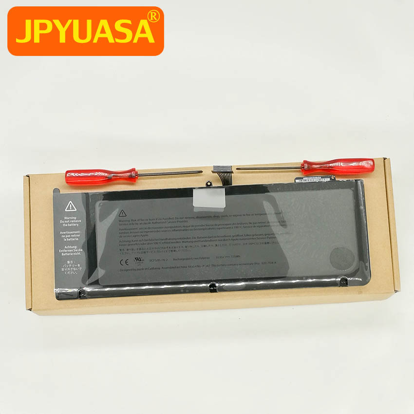 Rechargeable Li-ion Polymer Battery A1382 For Macbook Pro 15 inch A1286 2011 2012 10.95V 77.5Wh стоимость