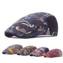 Camo Cap Men Berets Graffiti Bright Forward Caps Foreign Trade Hats Women  Visor LU0234(China e4db9de08418