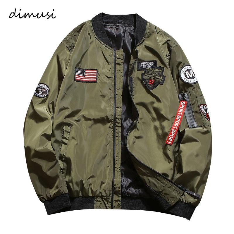 DIMUSI Mens Bomber Jackets Fashion Men Anorak Hip Hop Streetwear Jackets Male Casual  Baseball Uniform Coats Clothing 4XL,YA787