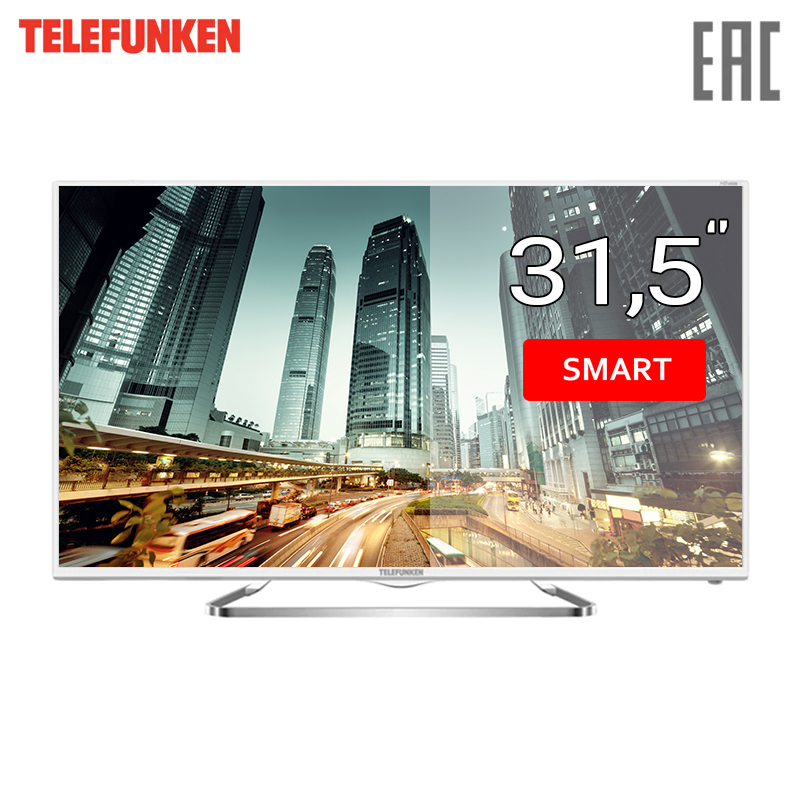 Фото - TV LED Telefunken TF-LED32S59T2S SmartTV 3239inchTV dvb dvb-t dvb-t2 digital chunghop universal learning remote control controller l309 for tv sat dvd cbl dvb t aux big key large buttons copy