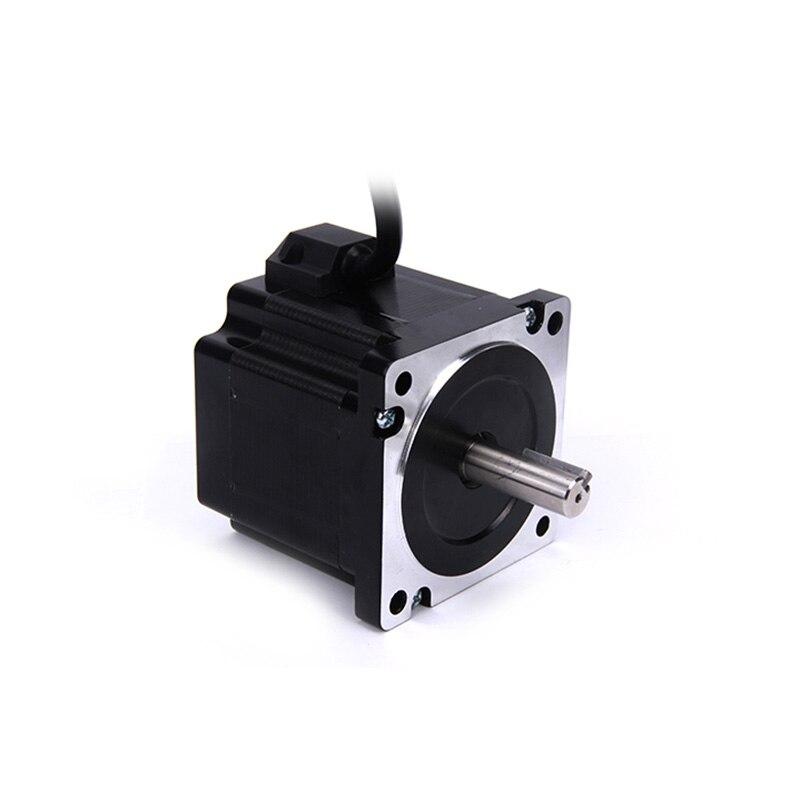 Hohe drehmoment 86 Schrittmotor 2 PHASE 4-blei Nema34 motor 86BYGH1401 67,5mm 6.0A 3.04N.M GERÄUSCHARM motor für CNC XYZ