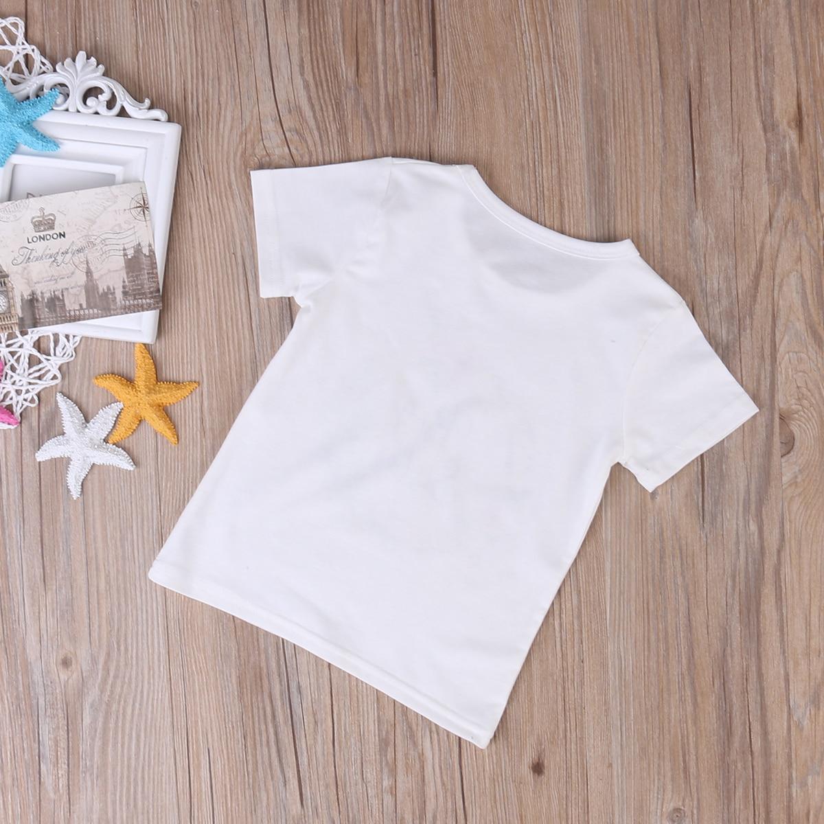 Детская одежда; летняя одежда для маленьких девочек; Одежда для крупных сестер; комбинезон; одежда; футболка; одинаковые комплекты для семьи