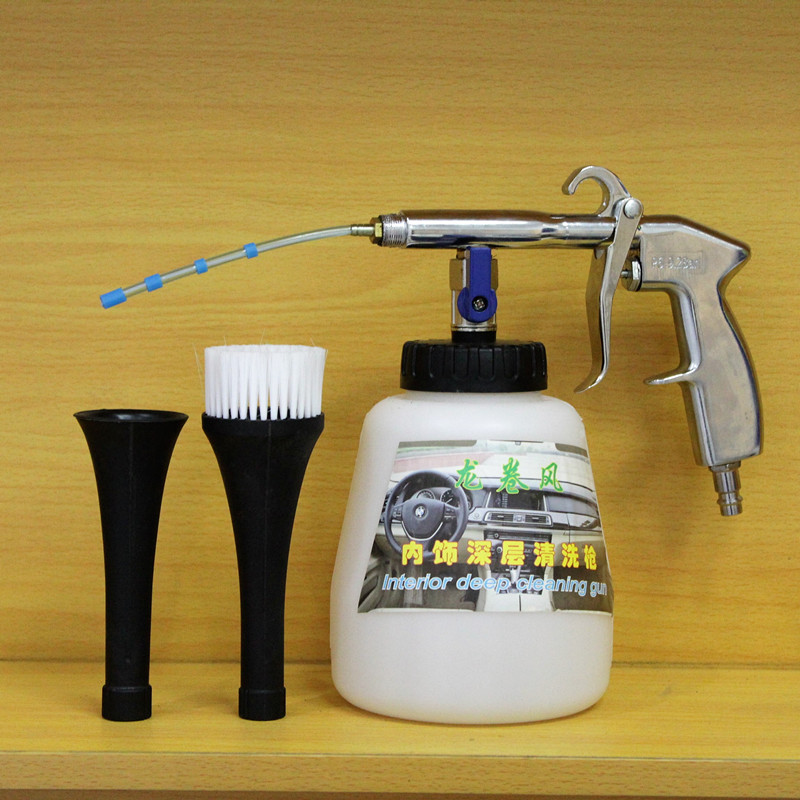 1L Tornador High Pressure Car Washer Interior Cleaning Tool Kits Deep Dry Clean Accessories