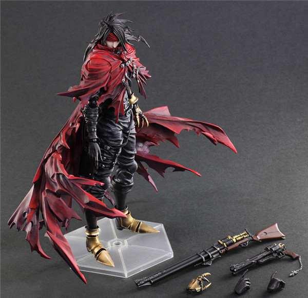 Play Arts Kai Vincent Valentine Final Fantasy Figure Final Fantasy VII FF7Cloud PA 27cm PVC Action