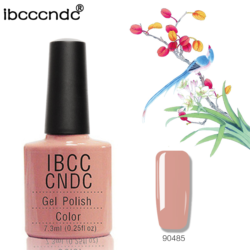 Xhel i ri me gozhdë IBCCCNDC me ngjyra të përsosur 7.3ml Polish Easy Thith Off Nail Long Long Long Thonjë Ngjyrosje Lesh Lesh Arti 90485
