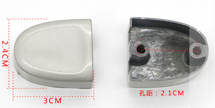 Top quality Luggage Handle Grip Spare Fix Holders Box Pull Carry Strap Luggage Repair Accessories Replacement Suitcase 7021-13